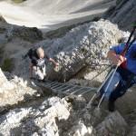 Am Aufstieg zur Reitherspitze